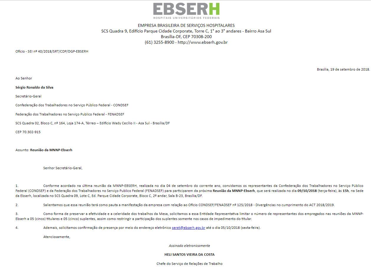 Ofício Reunião Ebserh (09/10)