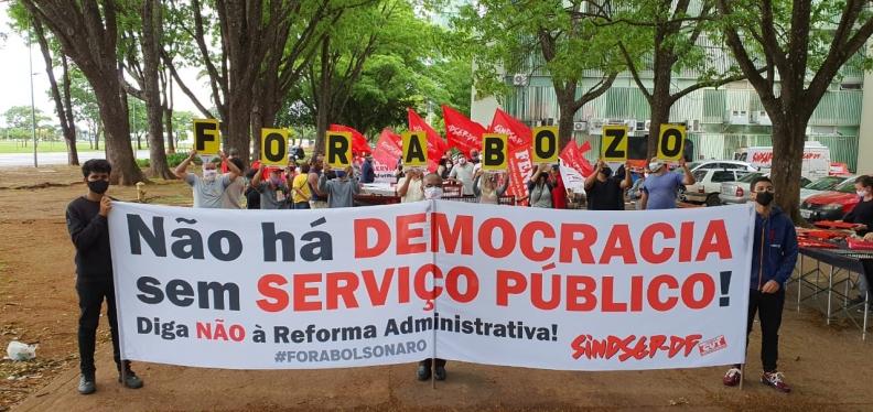 28 de outubro: Eu luto pelos serviços públicos