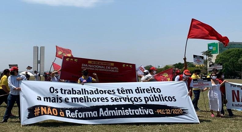 30 de setembro: Dia Nacional de Luta contra reforma Administrativa