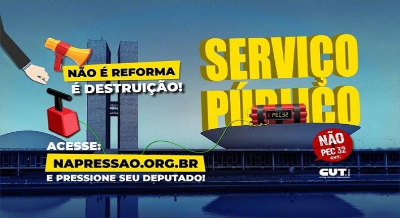 A luta continua: Servidores vão ocupar Brasília na semana que vem contra PEC 32