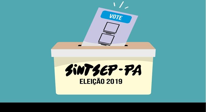Aberto período de inscrição de chapas para eleição do Sintsep-PA