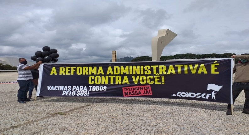 Atos contra reforma Administrativa cobram fortalecimento do setor público
