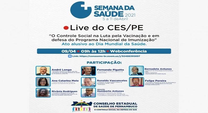 Brasil clama por vacinação contra a Covid-19 na Semana da Saúde