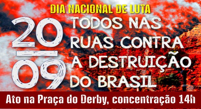 Brasileiros voltam às ruas contra os desmandos do governo Bolsonaro