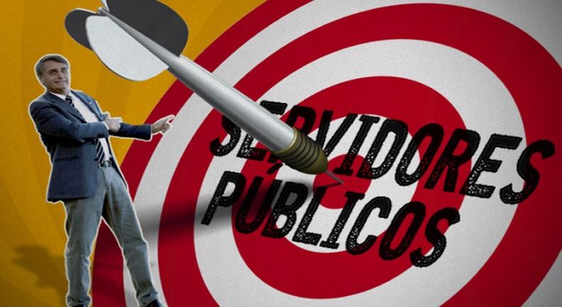 Campanha defende reajuste de 33% para servidores que podem optar por greve