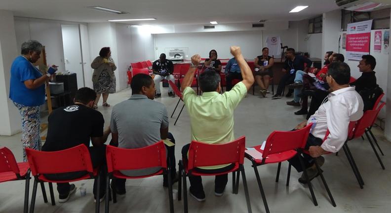 Com encontro nacional, Condsef/Fenadsef lança coletivos de jovens e LGBTQI+