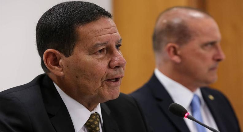 CUT é recebida por Mourão e critica reforma previdenciária