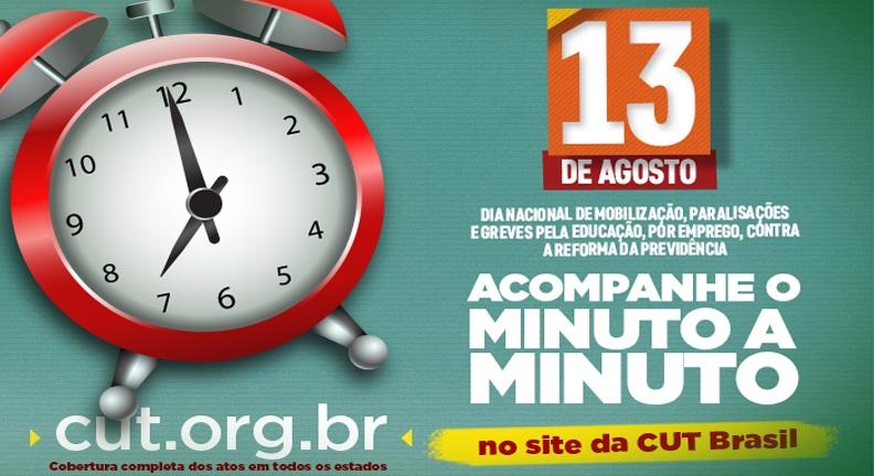 Dia nacional de luta contra a reforma e cortes na educação