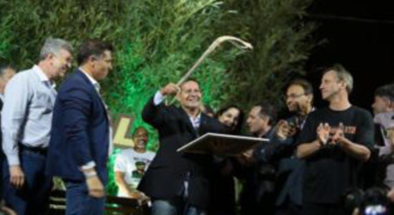 Em Bagé, vice de Bolsonaro defende fim da estabilidade no serviço público