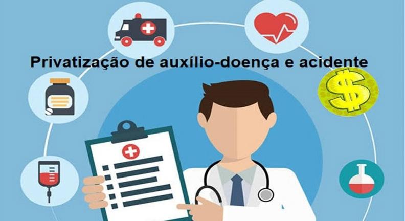 Governo Bolsonaro estuda privatização do auxílio-doença e acidente de servidor
