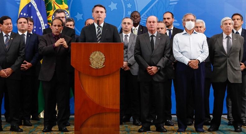 Guedes e Bolsonaro levaram Brasil à recessão antes da pandemia, diz estudo