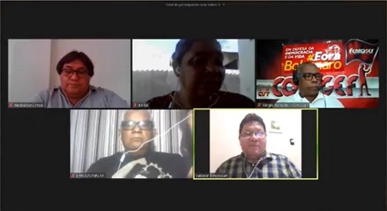 Live promovida pelo Sindsep-AP debate ações sindicais na pandemia