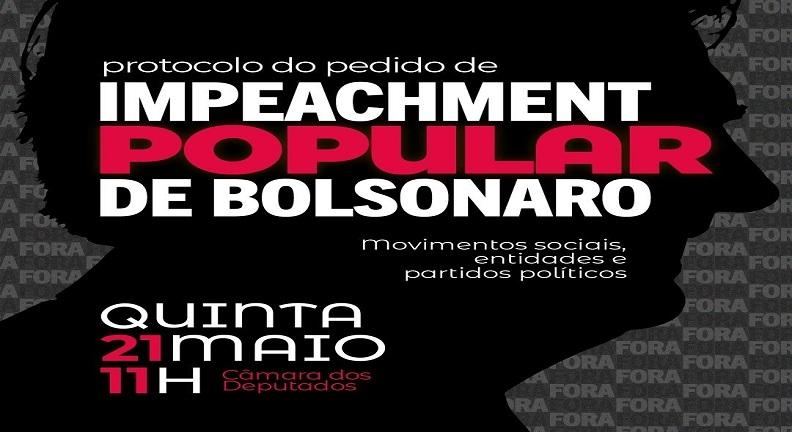Mais representativo pedido de impeachment de Bolsonaro chega amanhã na Câmara