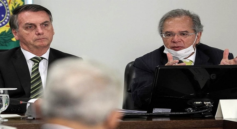 Na saúde e na economia, Bolsonaro e Paulo Guedes são faces da mesma tragédia