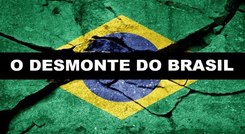 O desmonte do Brasil e do serviço público é projeto de Bolsonaro