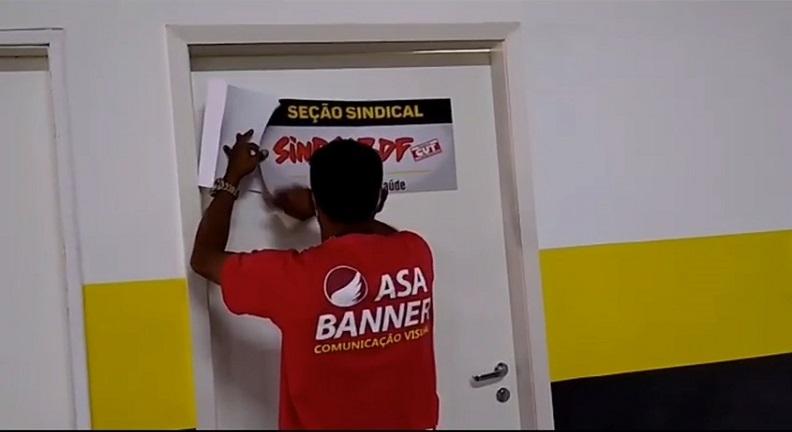 Seção Sindical no Ministério da Saúde é reinaugurada