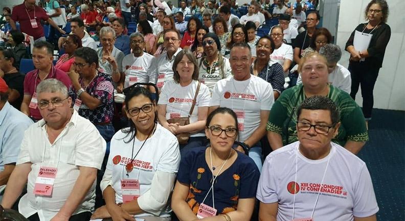 Servidores gaúchos representam delegação do Sindiserf no Congresso da Condsef