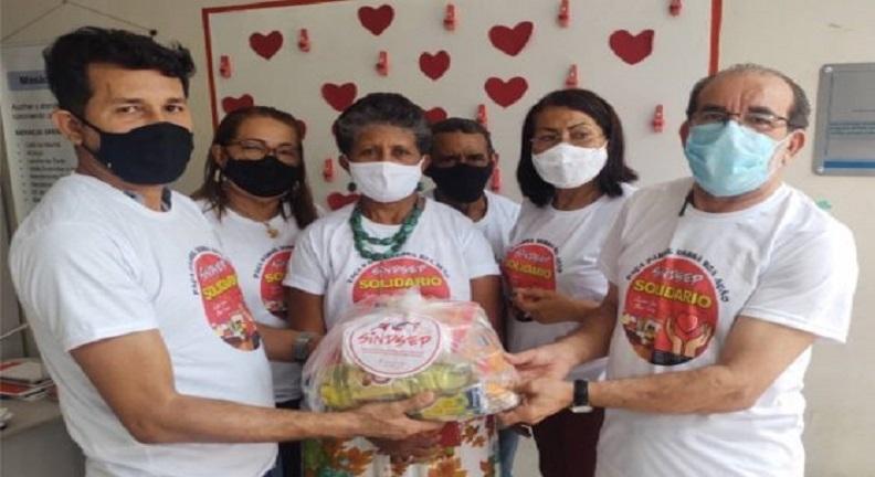 Sindsep-MA realiza entregas de cestas básicas da campanha Sindsep Solidário