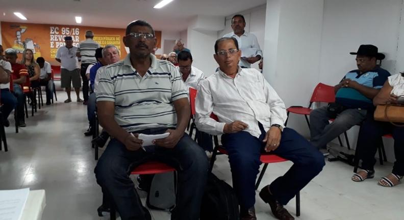 Sintsef-BA participa de agenda de atividades da CONDSEF em Brasília