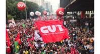 Protestos contra reforma da Previdência Pública e extinção do MT