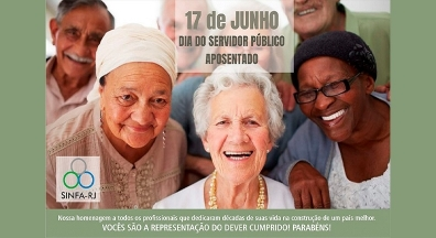 17 de Junho: Dia do Servidor Público Aposentado