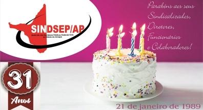 21 de janeiro: 31 anos de Sindsep Amapá