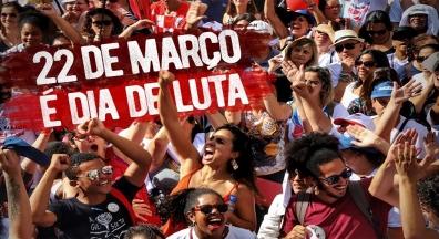 22 de março é dia de luta contra a reforma da Previdência