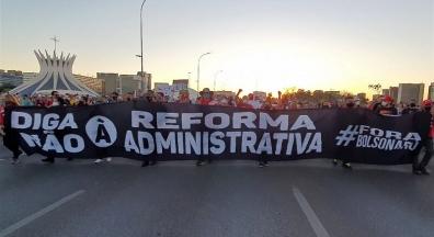24J: Ato Fora Bolsonaro, não à reforma administrativa