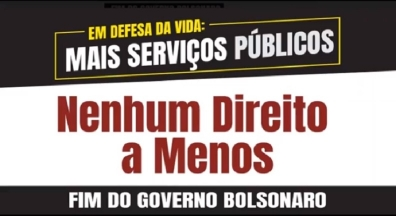 27 de maio é Dia Nacional de Luta em defesa do Serviço Público