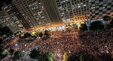 78% da população acreditam que manifestações podem mudar o País