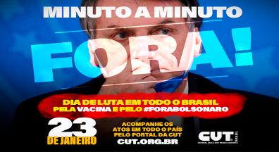 Acompanhe ao vivo os atos por Fora Bolsonaro em todo o Brasil