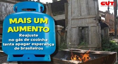Alto preço do gás piora as condições de vida de trabalhadores mais pobres