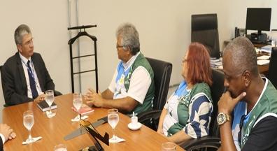 Após ato, Sinfa-RJ debate com Ministério da Defesa incorporação do PGPE no PCCTM