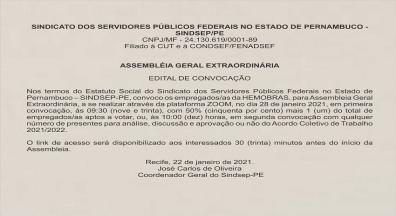 Assembleia da Hemobrás na próxima quinta, 28