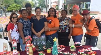 Ato marcou o encerramento de campanha pelo fim da violência contra mulher