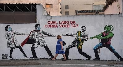 Brasil quase dobra média de mortes por covid em uma semana; veja situação