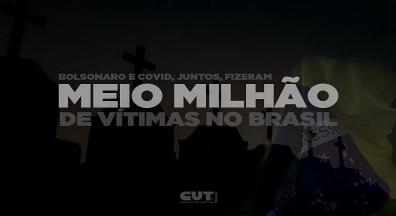Brasil ultrapassa a trágica marca das 500 mil vidas perdidas para a Covid-19