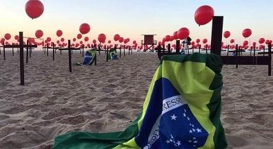 Brasil a um dia das 500 mil mortes pela covid-19. Fiocruz: Situação 'extremamente crítica