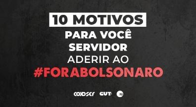 Confira as ações que marcaram lançamento da campanha Fora Bolsonaro