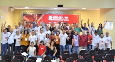 Congresso do SindsepMS delibera pela unificação com o SintsprevMS