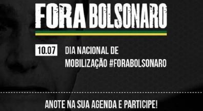 CUT, centrais e movimentos lançam campanha 'Fora, Bolsonaro' nesta sexta