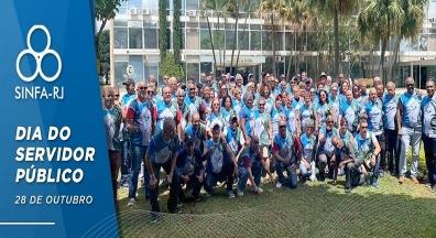 Dia do Servidor Público: SINFA-RJ lança campanha