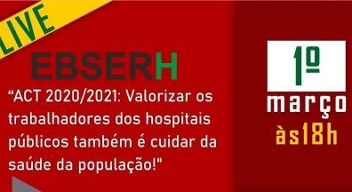 Ebserh: Trabalhadores fazem dia de luta em 1º de março