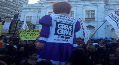 Educação deu a largada para um movimento de massa e para a greve geral
