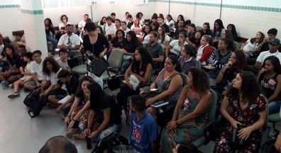 Em Arraial do Cabo, estudantes rejeitam reforma da Previdência