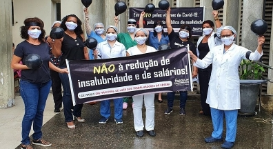 Empregados da Ebserh reivindicam integridade de seus salários