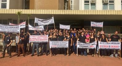 Empregados da Valec defendem mantenção da estatal e de seus empregos