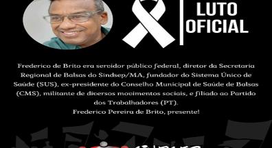 Frederico Pereira de Brito, presente!