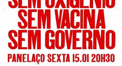 Frente Brasil Popular convoca panelaço contra governo genocida de Bolsonaro