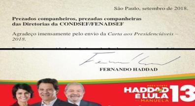 Haddad se compromete com revogação de emenda que congela investimentos públicos